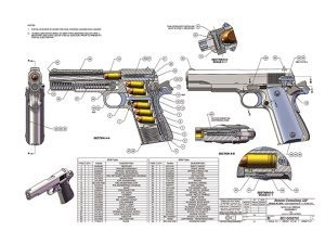 1911, 1911s, 1911 pistol, 1911 pistols, 1911 builders, 1911 builders instructions