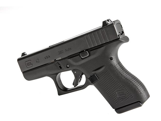 glock, glock pistol, glock pistols, glock concealed carry, concealed carry, glock 42, glock 42 profile