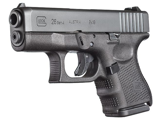 glock, glock pistol, glock pistols, glock concealed carry, concealed carry, glock 26 gen4