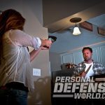 home invasion, home invader, target, targets, self-defense, home defense, personal defense, home invasion tips, gun light