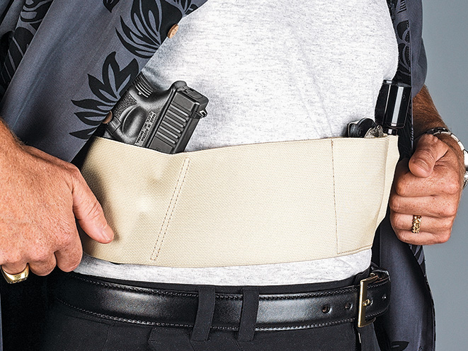 holster, holsters, concealed carry, concealed carry holster, concealed carry holsters, Galco UnderWraps Belly Band