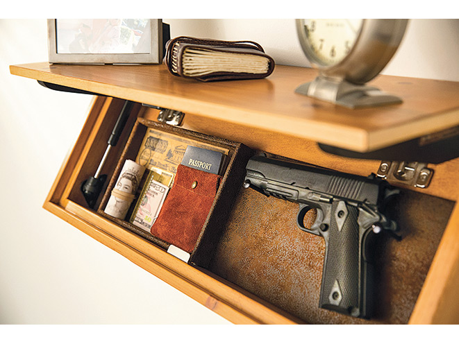 hidden shelf gun safe out of sight 14 gun storage options for home and vehicle 4203