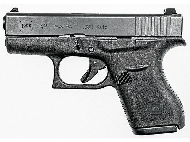 handgun, handguns, compact handgun, compact handguns, pistol, pistols, Glock 42