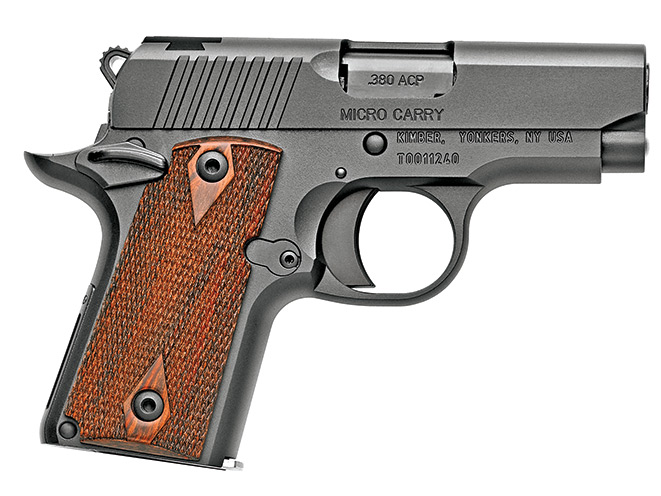 handgun, handguns, compact handgun, compact handguns, pistol, pistols, Kimber Micro RCP