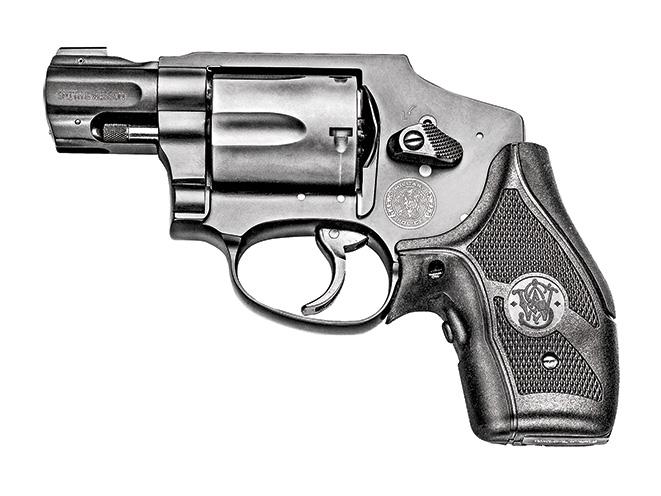 revolver, revolvers, snub-nose revolver, snub-nose revolvers, Smith & Wesson M&P340 CT