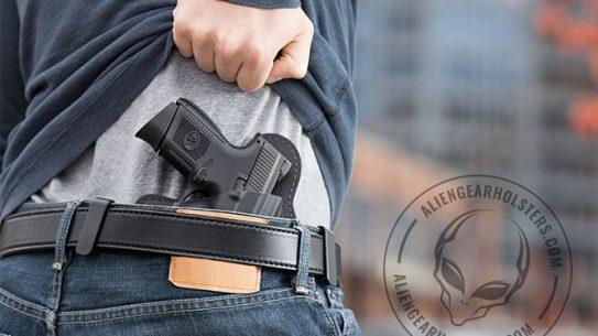 alien gear, alen gear holsters, campus carry, empty holster, empty holster protest, students for concealed carry