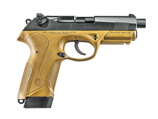 pistol, pistols, locked-breech, locked breech, locked-breech pistol, locked-breech pistols, rotary barrel pistol, rotary barrel pistols, rotary-barrel, rotary-barrel pistol, rotary-barrel pistols, Beretta PX4 Storm SD Type F