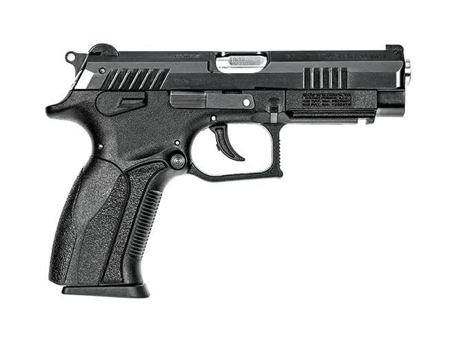 pistol, pistols, locked-breech, locked breech, locked-breech pistol, locked-breech pistols, rotary barrel pistol, rotary barrel pistols, rotary-barrel, rotary-barrel pistol, rotary-barrel pistols, Grand Power K100