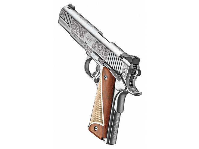 Kimber's Engraved Stainless II Pistols