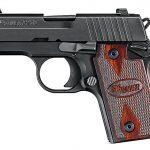 handgun, handguns, compact handgun, compact handguns, pistol, pistols, Sig Sauer P238 Rosewood