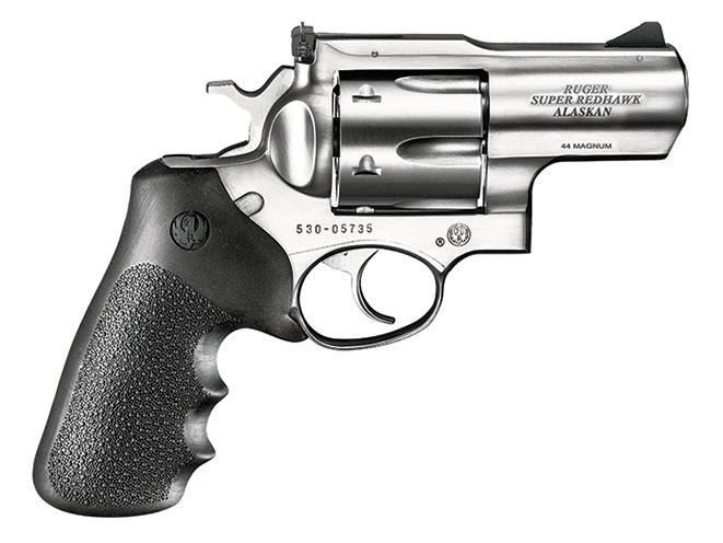 revolver, revolvers, snub-nose revolver, snub-nose revolvers, Ruger Super Redhawk Alaskan