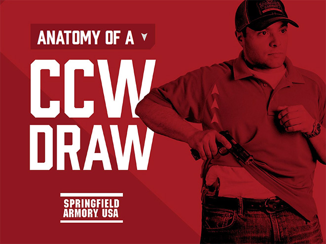 springfield, springfield armory, springfield anatomy of a ccw draw, anatomy of a ccw draw, springfield anatomy of a concealed carry draw