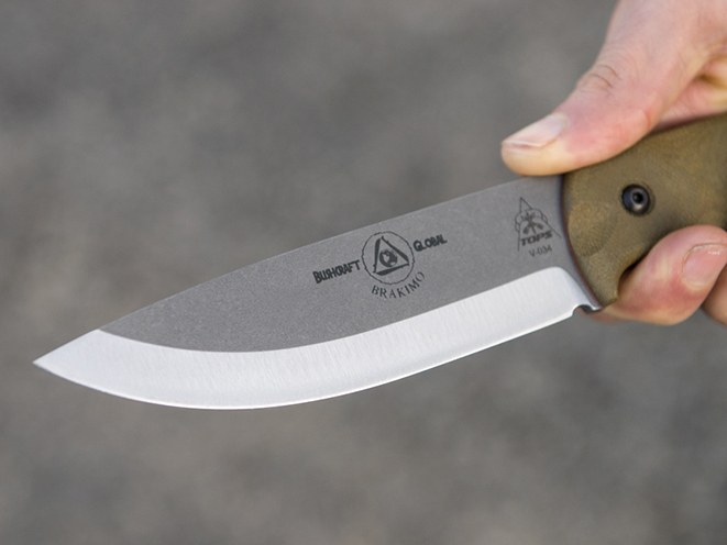 TOPS, TOPS Knives, TOPS Knives Brakimo, Brakimo, Brakimo knife, brakimo blade