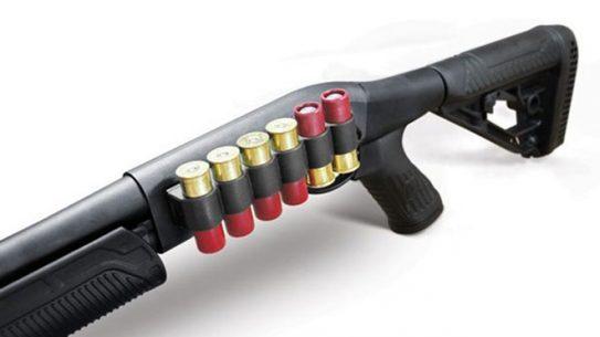 shell carrier, pump action shotgun, pump action shotguns, adaptive tactical