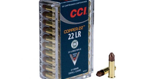 CCI, CCI AMMUNITION, CCI COPPER-22, COPPER-22