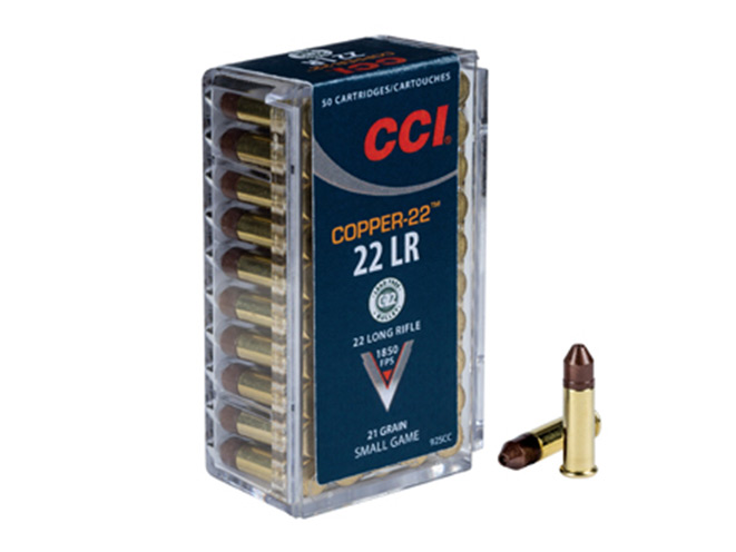 CCI, CCI AMMUNITION, CCI COPPER-22, COPPER-22