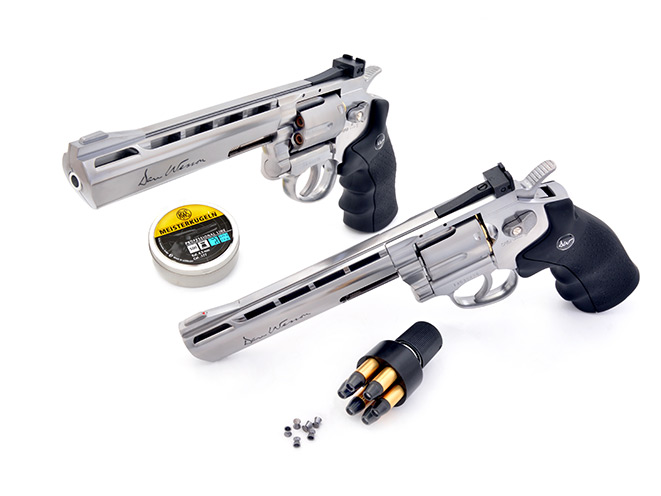 air pistol, air pistols, airgun, umarex smith & wesson, Umarex Smith & Wesson 327 TRR8, ASG Dan Wesson Model 715