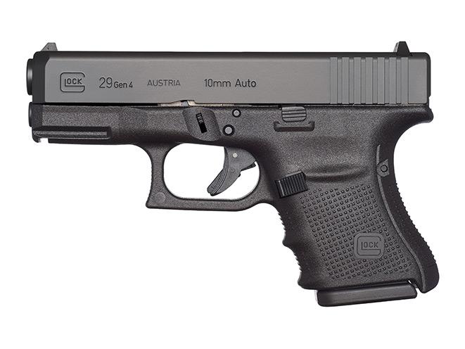 glock, glock pistols, glock pistol, glock 10mm, 10mm, glock 29 gen4