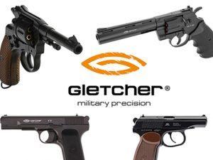GLETCHER, GLETCHER AIRGUN, GLETCHER AIR PISTOL, AIRGUN, AIR PISTOL
