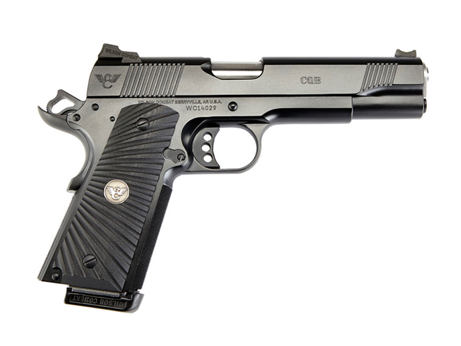 handgun, handguns, home defense handgun, home defense handguns, home defense pistol, home defense pistols, Wilson Combat CQB