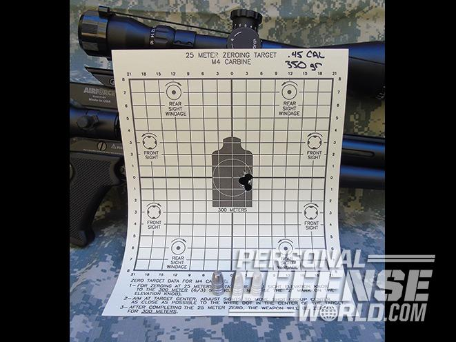 AirForce Texan, AirForce Texan air rifle, AirForce Texan rifle, airforce airguns, airforce texan target