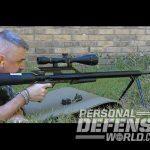 AirForce Texan, AirForce Texan air rifle, AirForce Texan rifle, airforce airguns, airforce texan shooting
