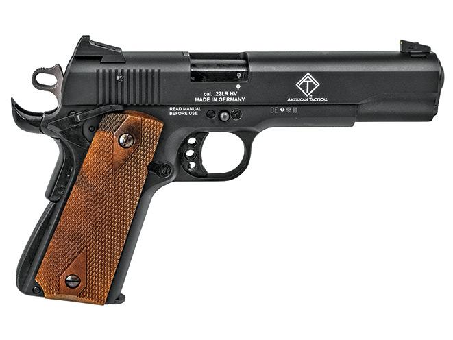 rimfire, rimfires, rimfire pistol, rimfire pistols, American Tactical GSG 1911 .22