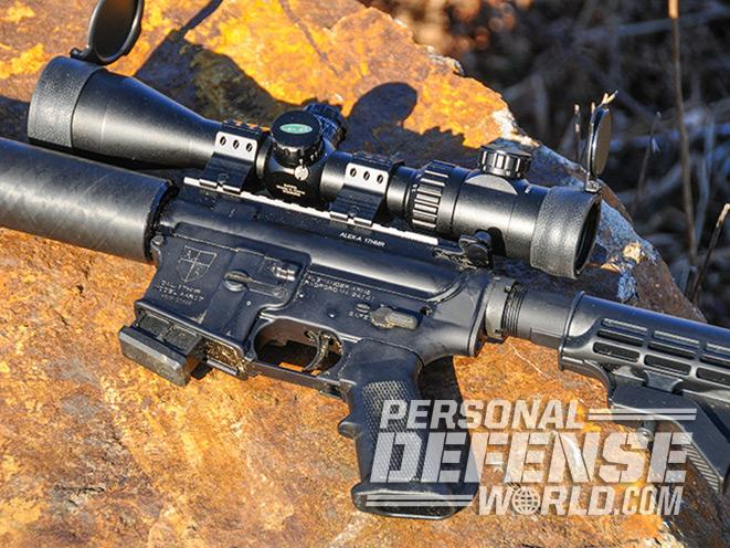 alexander arms, alexander arms .17 hmr, alexander arms 17 hmr, alexander arms rifle, scope