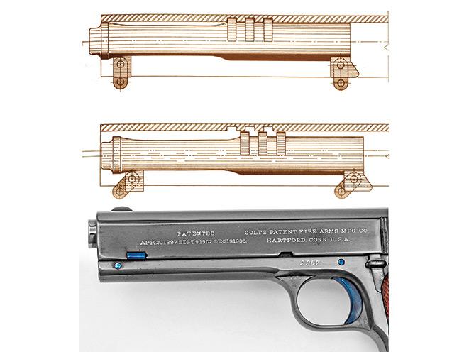 1911, 1911 pistol, 1911 pistols, 1911 gun, colt model 1911, colt 1911, model 1911, model 1905 barrel