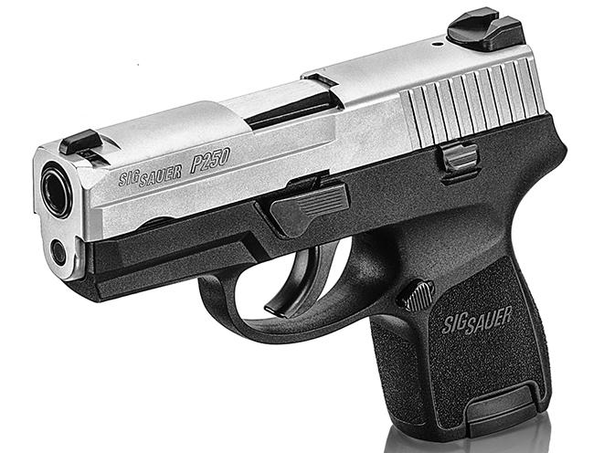 pistol, pistols, subcompact pistol, subcompact pistols, Sig Sauer P250 Subcompact