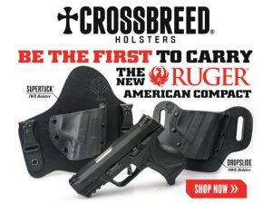ruger american compact, ruger american, crossbreed, crossbreed holster, crossbreed holsters, ruger american compact pistol