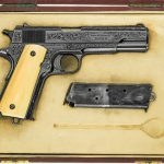 colt model 1911, 1911, model 1911, 1911 engraving, model 1911 gun engraving, f.t. fisher