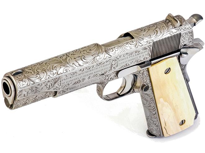 colt model 1911, 1911, model 1911, 1911 engraving, model 1911 gun engraving, engraving