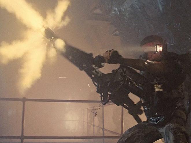Horror Movie Guns Aliens