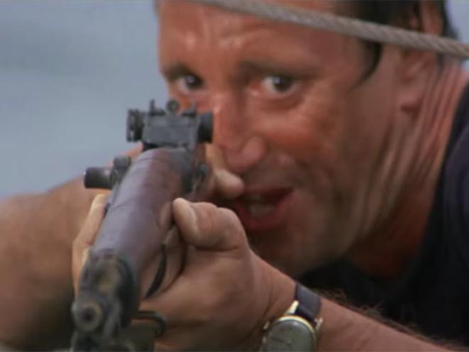 Horror Movie Guns Jaws
