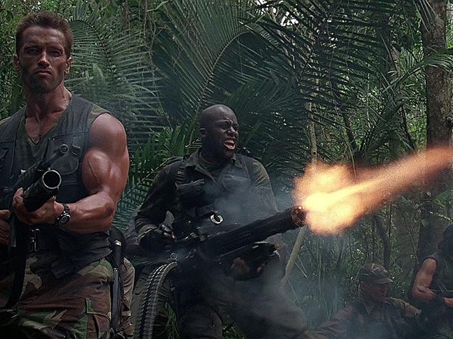 Horror Movie Guns Predator