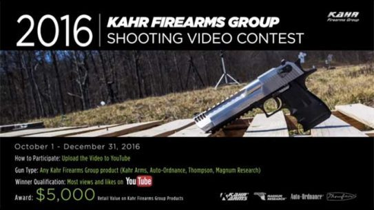 kahr firearms group, kahr youtube shooting contest
