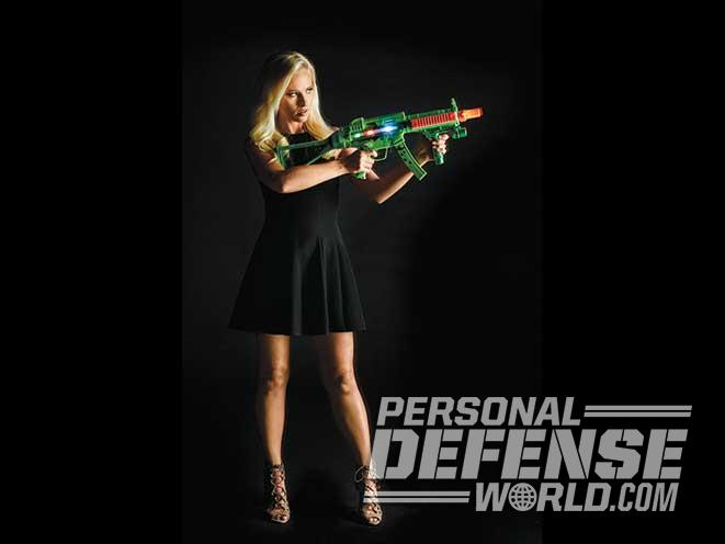 Tomi Lahren, TheBlaze, Rifle aim