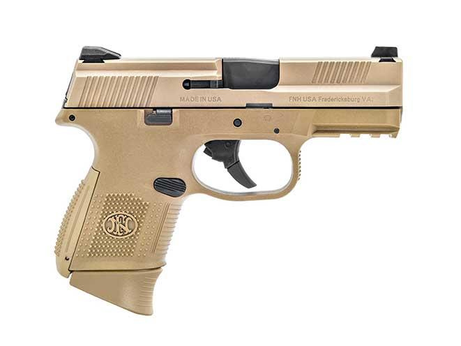 FNS-9 Compact FDE pistol