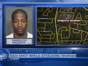 good guy with a gun shooting