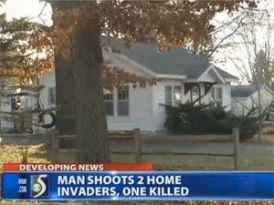 MICHIGAN HOME INVASION SUSPECT KILLED