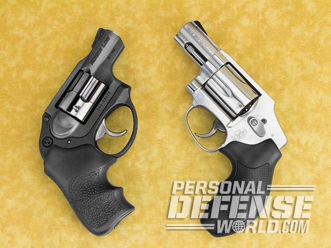Snubbie Shootout: Ruger LCR Vs  S&W Model 640