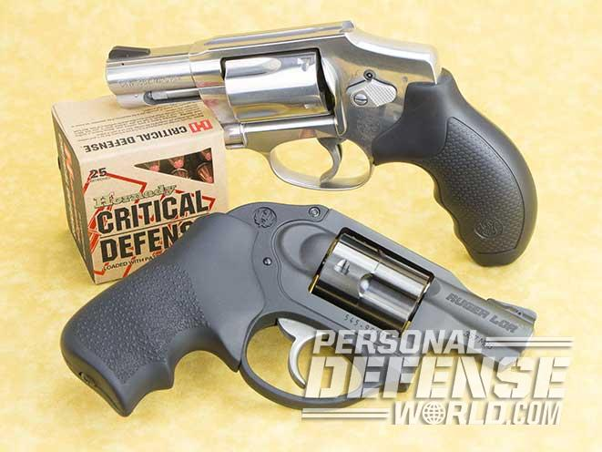 S&W Model 640 ruger lcr comparison