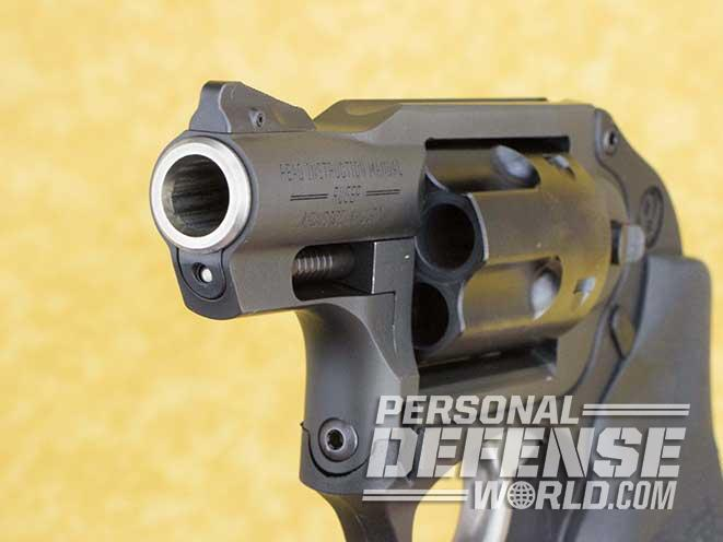 S&W Model 640 vs Ruger LCR handgun