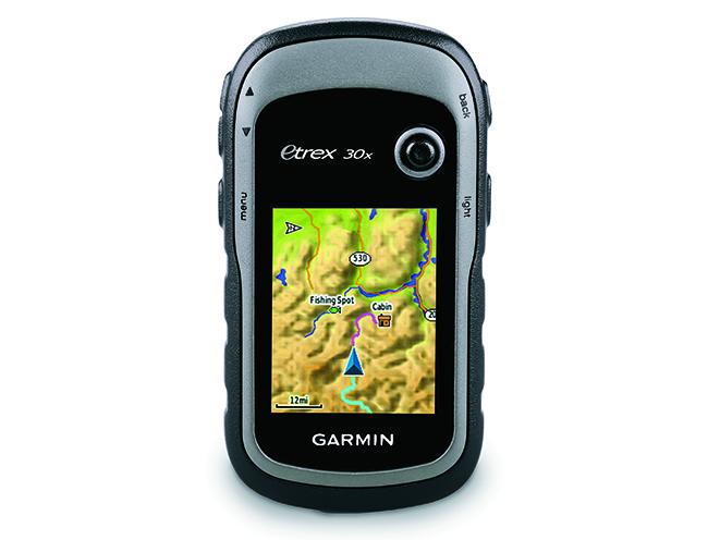 survival gear Garmin eTrex 30x