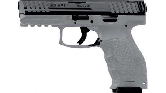 hk vp9 grey pistol