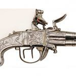 english flintlock, pocket pistols