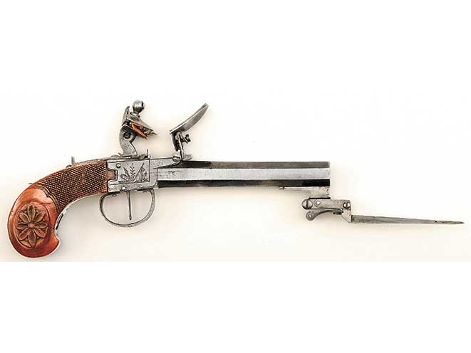 flintlock, pocket pistols