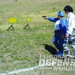 full-size handgun target training