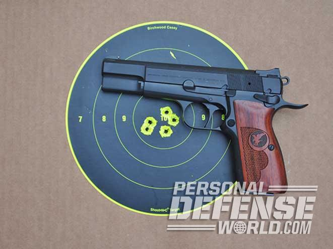 nighthawk browning hi-power target